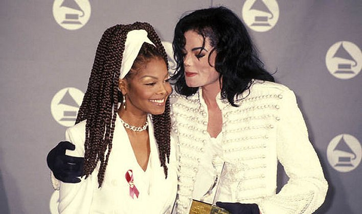 Micheal Jackson & sister Janet