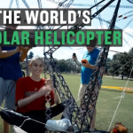 Eco Friendly Helicopter makes Aviation History by running solely on Solar Power