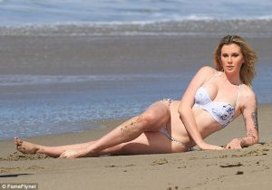 Ireland Baldwin kicks off Bikini season as she flashes toned physique during surfside photo shoot