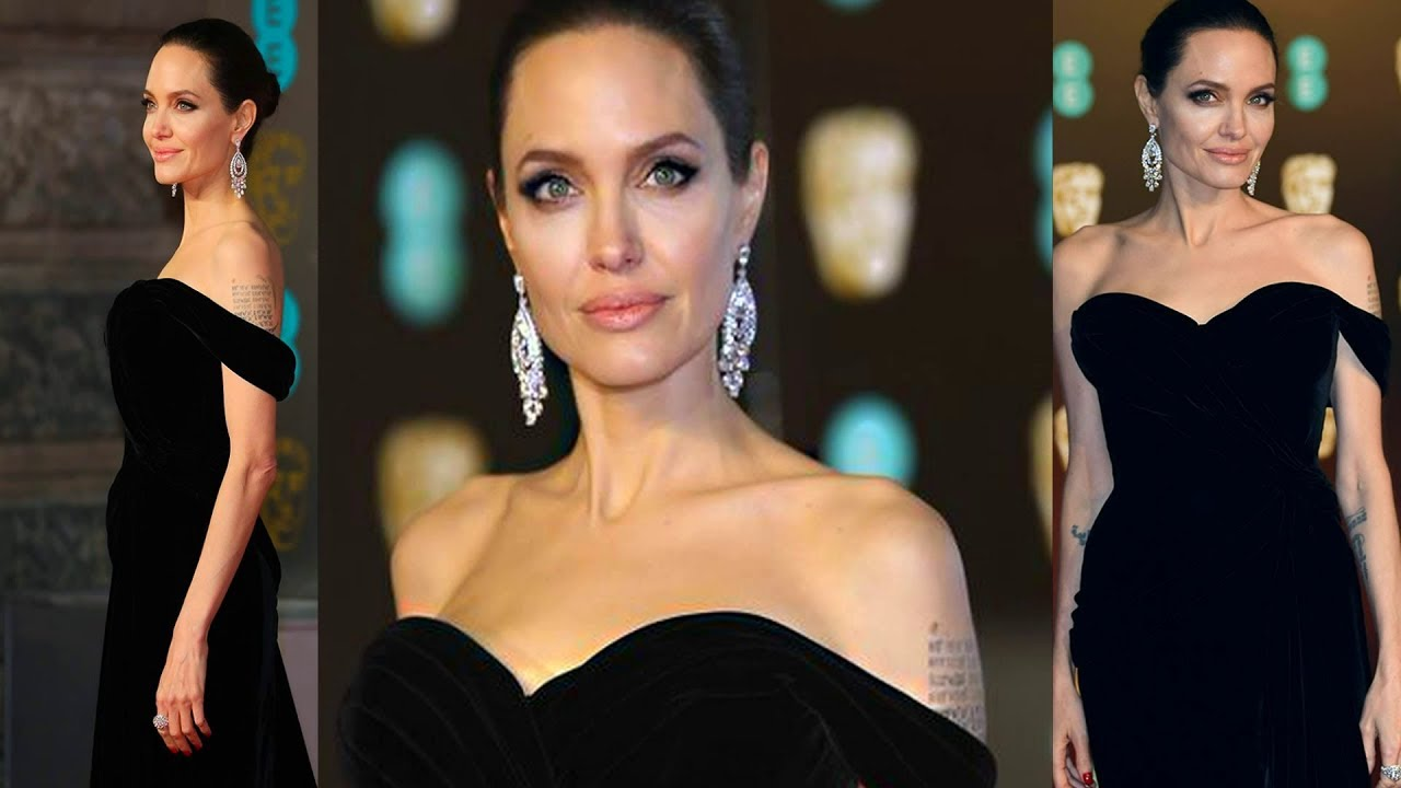 Stunning Angelina Jolie at BAFTA - 2018 | The Ultimate Source