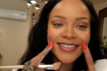 Rihanna's Top Makeup Tips