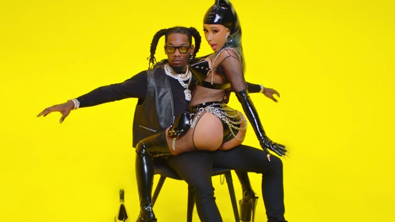 Cardi B Gives Offset A Lap Dance Onstage At Bet Awards: Cardi B Twerks On Offset In Clout Music Video